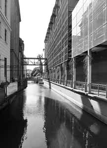 Kanal in Leipzig (Pleiße)