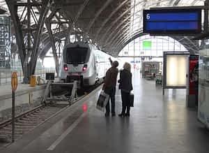 Hauptbahnhof Leipzig wird bestreikt